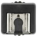 JJC Video Cold Shoe Blitzschuh-Adapter kompatibel mit...
