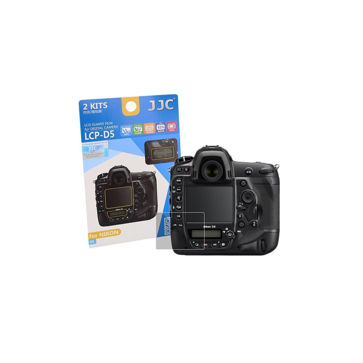 JJC LCD-Displayschutzfolie LCP-D5 | Kamera-Display Schutz | Für Nikon D5