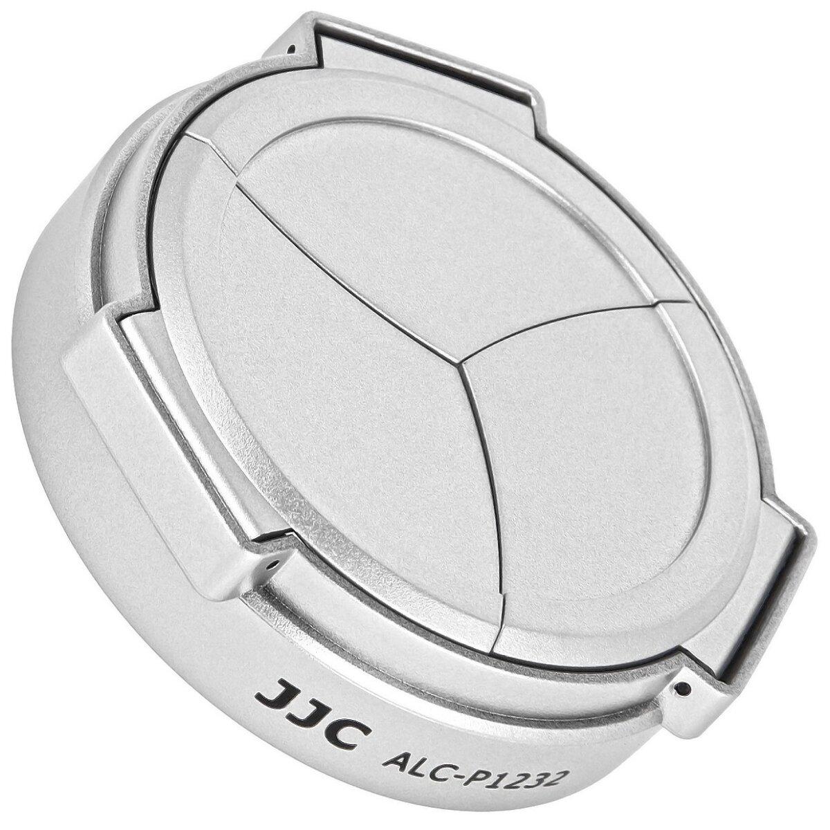 JJC Automatik Objektivdeckel, Frontdeckel fuer Panasonic H-FS12032 - ALC-P1232 SILVER