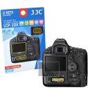 JJC Displayschutzfolie Screen Protector Kratzschutz passgenau kompatibel mit Canon EOS 1DX - LCP-1DX