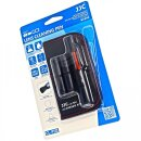 VSGO Cleaning Set | Cleaning Pen Plus 2 Spare Tips and Microfiber Cloth | For DSLR, Lenses, Mobile Phones, Smartphones, Camcorders | DDL 1