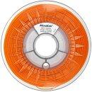 Minadax 0,75kg Premium Qualitaet 3mm (2,85mm) ABS-X-Filament orange fuer 3D-Drucker hergestellt in Europa
