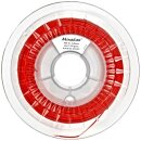 Minadax 0,75kg Premium Qualitaet 3mm (2,85mm) ABS-X-Filament rot fuer 3D-Drucker hergestellt in Europa
