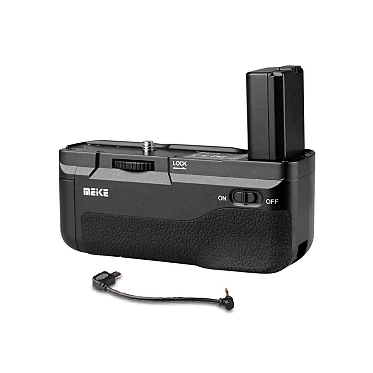 Meike Batteriegriff fuer Sony A6300 - 100% kompatibel & passgenaue Form