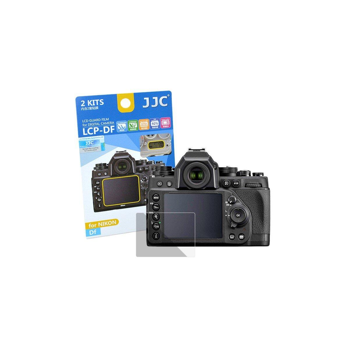 JJC Displayschutzfolie Screen Protector Kratzschutz passgenau fuer Nikon DF - LCP-DF