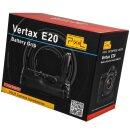 Pixel Vertax E20 Ersatz für BG-E20 Profi Batteriegriff Kameragriff Hochformatauslöser kompatibel mit Canon EOS 5D Mark IV - für mehr Akkulaufzeit und professionelle Portraits + 1x LP-E6N Nachbau-Akku