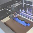 Minadax PEI 3D Druckoberfläche Nature 220x220mm 1mm