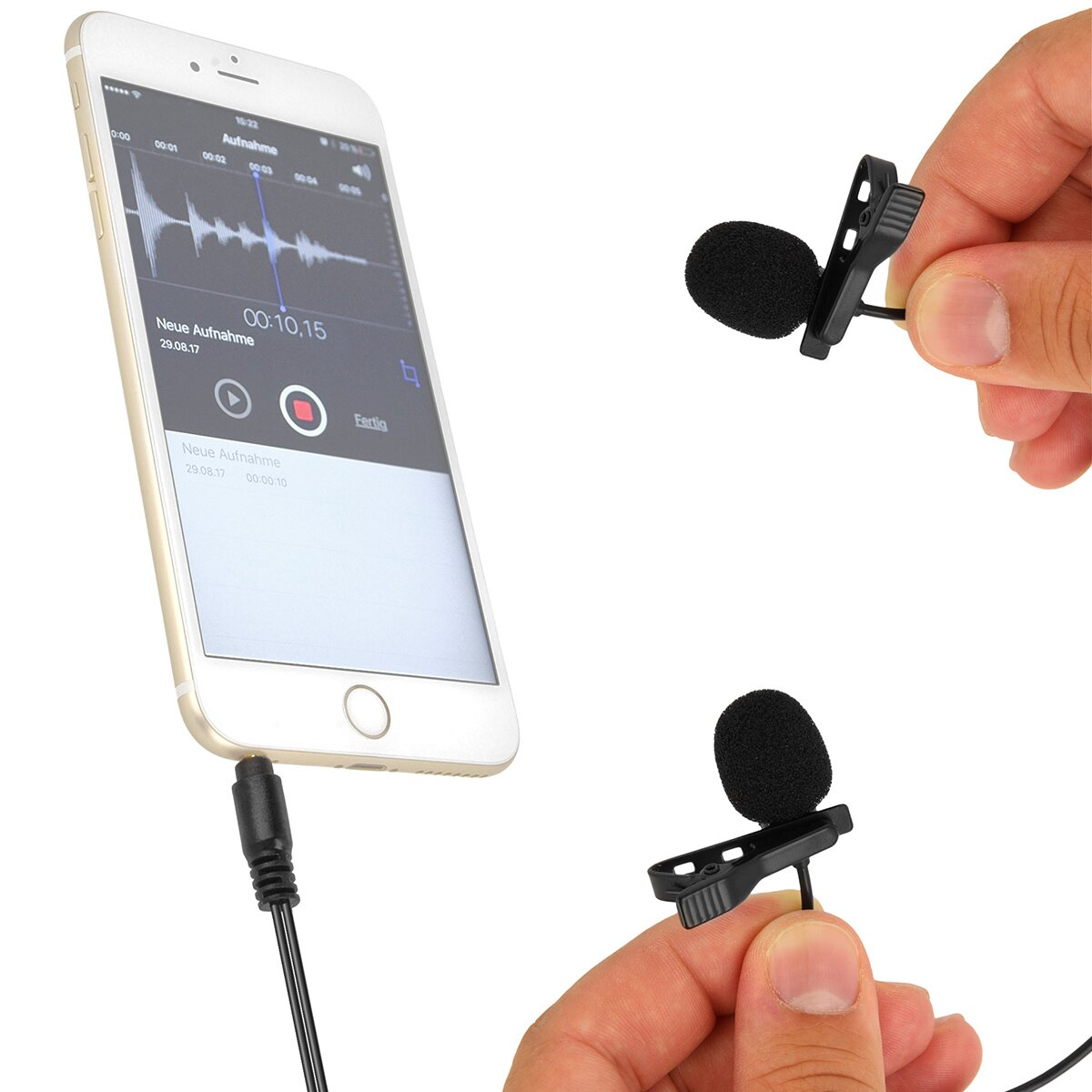 BOYA Lavalier mic for Smartphone, tablets and other mobile devices - BY-LM400