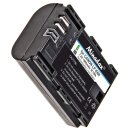 2x Minadax Qualitätsakkus LP-E6 LP-E6N mit echten 1900 mAh kompatibel mit CanonEOS 90D 5DS 5DSR 5D Mark II/III/IV 60D/Da 70D 80D 6D 7D 7D MarkII 6D MarkII, EOS R, XC10