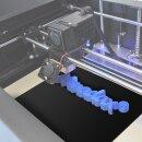Minadax® PEI Druckplatte 200 x 200 mm in Schwarz für 3D Druck, 3D-Modelldruck, FDM Druck