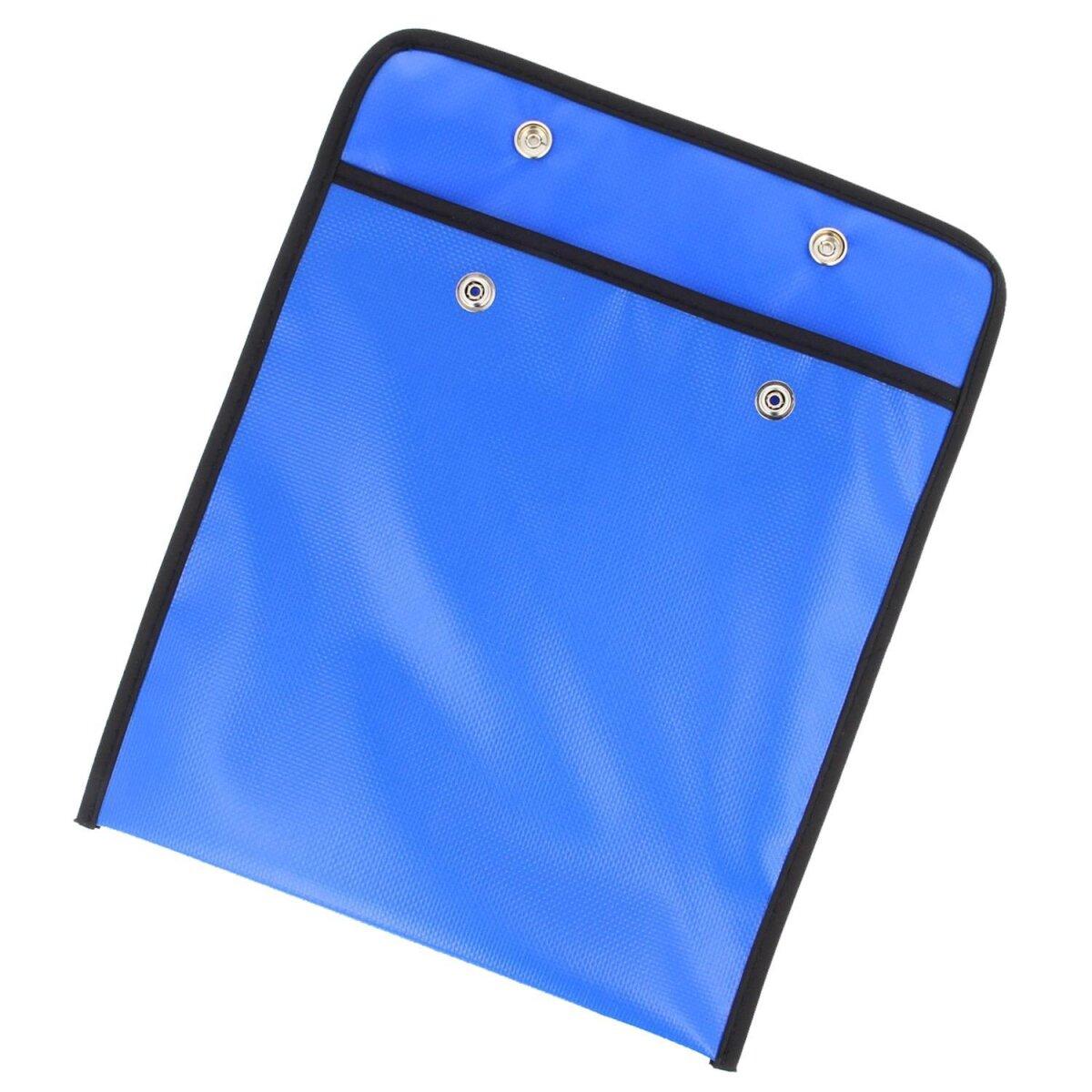 Minadax Tasche für Antistatik-Matten Servicetasche in blau 25cm x 25cm für extra Schutz sowie Mobilität