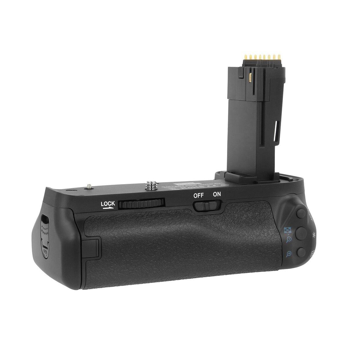 Batteriegriff kompatibel mit Canon EOS 6D Mark II  Akkugriff Battery Grip Ersatz für Canon BG-E21 – Vertax E21 - von Pixel