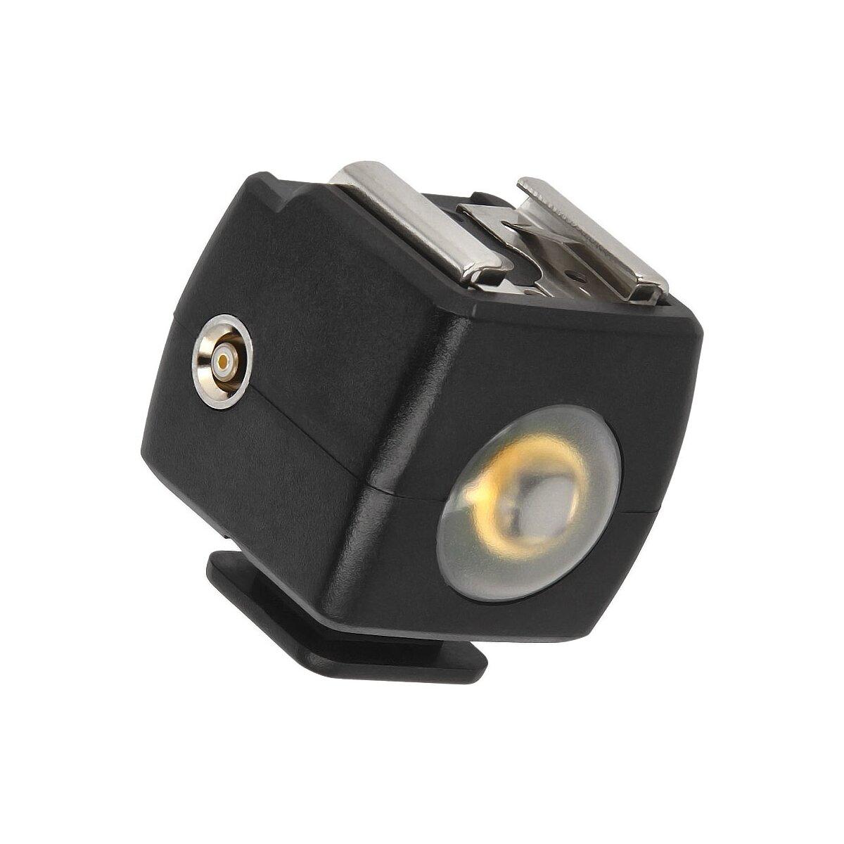 JJC Blitzauslöser kompatibel mit nahezu alle Canon Aufsteckblitze löst aus bis zu 20m Entfernung
