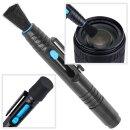 JJC Reinigungsset Lens Cleaning Pen mit Objektiv-Reinigungsstift, Reinigungsspitzen und Etui