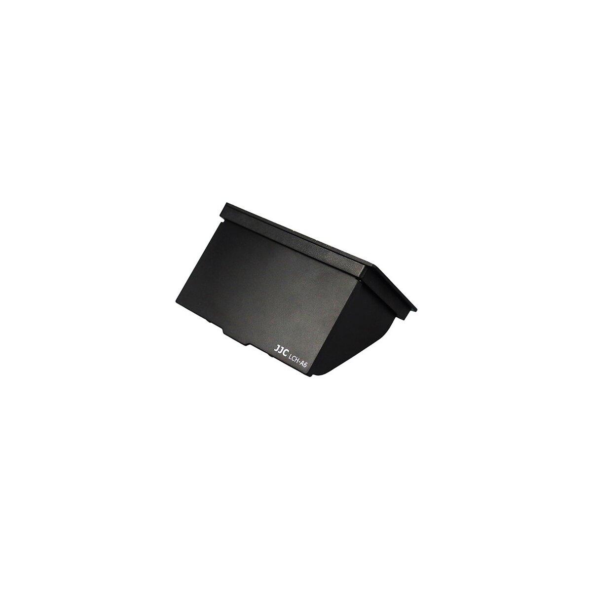 JJC Displayschutzblende geeignet für Sony A6000 Sony A6300 Sony A6500 schützt Ihr LCD vor Kratzern, Stößen, Schmutz, Sprizwasser