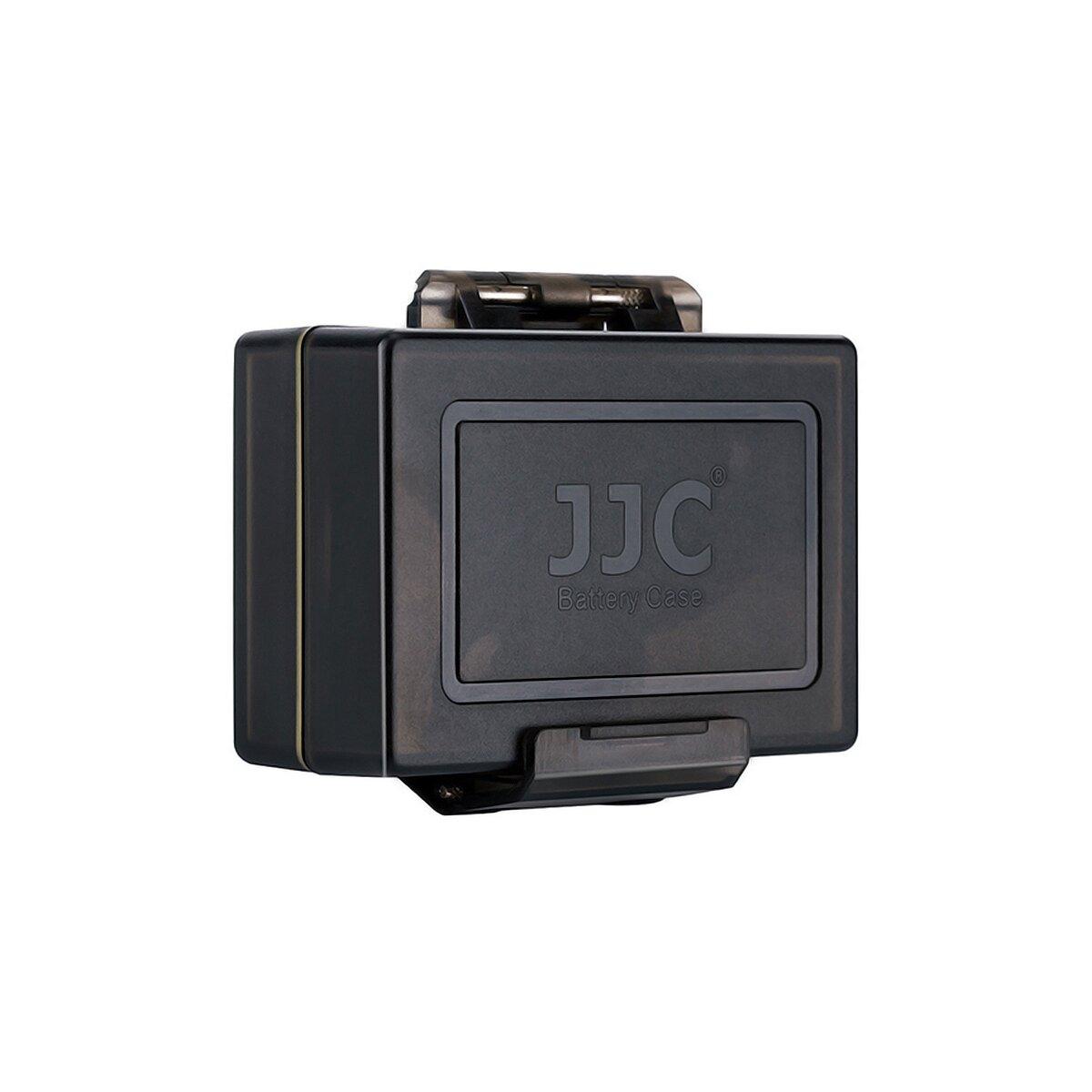JJC Kamera Akku Schutzbox kompatibel mit Canon LP-E6 LP-E6N mit Speicherkartenetui 1x SD-Karte und 2x Micro SD-Karte