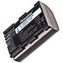 Minadax® Qualitätsakku ersetzt LP-E6 LP-E6N mit echten 1600 mAh kompatibel mit CanonEOS 90D 5DS 5DSR 5D Mark II/III/IV 60D/Da 70D 80D 6D 7D 7D MarkII 6D MarkII, EOS R, XC10