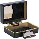 JJC Kamera Akku Schutzbox kompatibel mit Sony NP-FW50 mit Speicherkartenetui 1x SD-Karte und 2x Micro SD-Karte