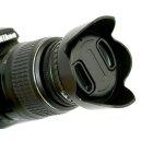 JJC Sonnenblende Universal 67mm mit Adapterring - LS-67