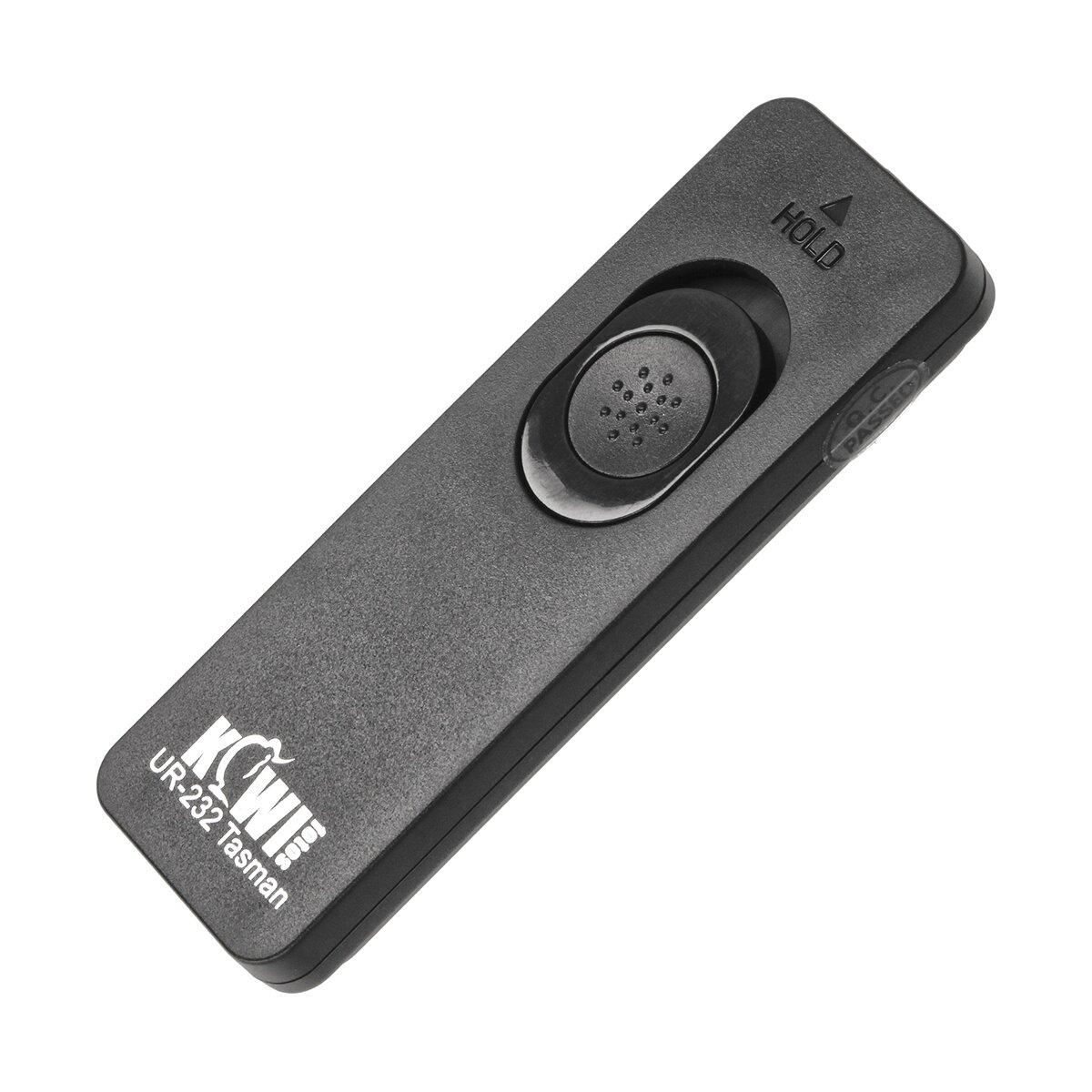 KIWI Fernauslöser mit auswechselbarem Kabel | Geeignet für Pentax K-70, Canon, Nikon, Sony, Olympus Kameras | Mit zweistufige Auslösetaste für Einzelbilder, Serienbilder, Langzeitbelichtung
