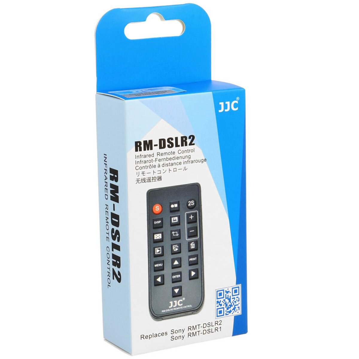 Infrarot Fernbedienung JJC RM-DSLR2 kompatibel mit Sony NEX