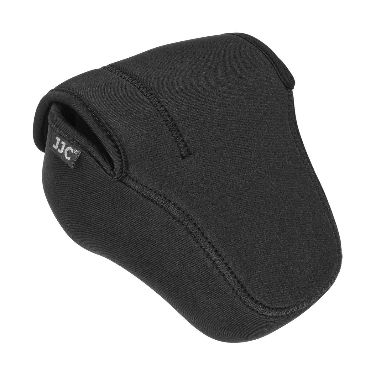 JJC Neopren-Kameraschutzhülle für kleine bis mittlere DSLR-Kamera inkl. Objektiv bis 10 cm Länge