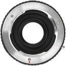 JYC Adapter MD-EOS, Objektiv Adapter Booster Autofokus Fokusreduzierer, kompatibel mit Canon EOS