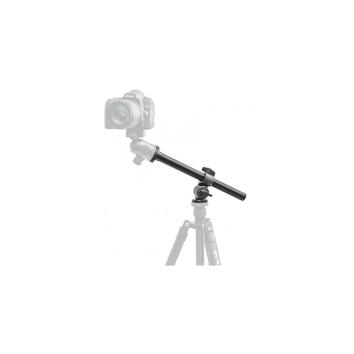 Impulsfoto Mittelsäule Auslegearm 32cm, Außenaufnahmen Überkopfaufnahmen Panorama und ungewöhnliche Perspektiven, belastbar bis 5kg