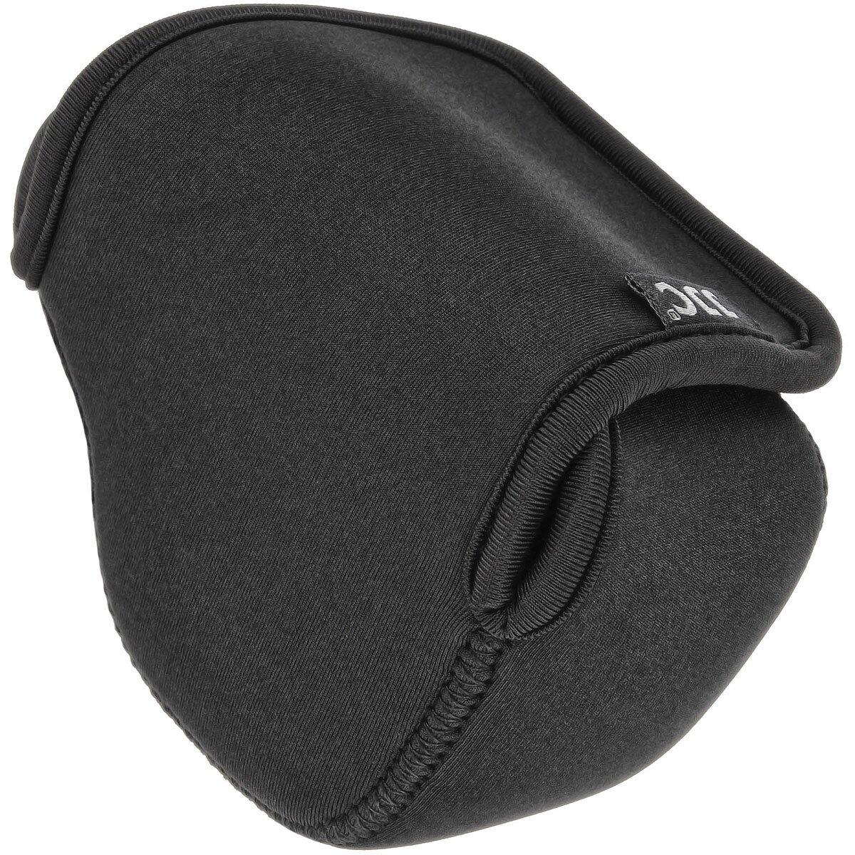 JJC Universal Wasserabweisende Neopren Kameratasche, Kamerahülle Schutzhülle für kleine Mirrorless SLT Kameras mit mittlerem Objektiv, Schwarz