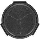 JJC Automatik Objektivdeckel, Frontdeckel kompatibel für Panasonic H-FS12032 - ALC-P1232 schwarz