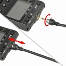 SMDV Fernauslöser, Kompatibel mit Sony und Minolta Kameras, Kabelauslöser mit Timer- und Intervallfunktion Langzeitbelichtung - T807