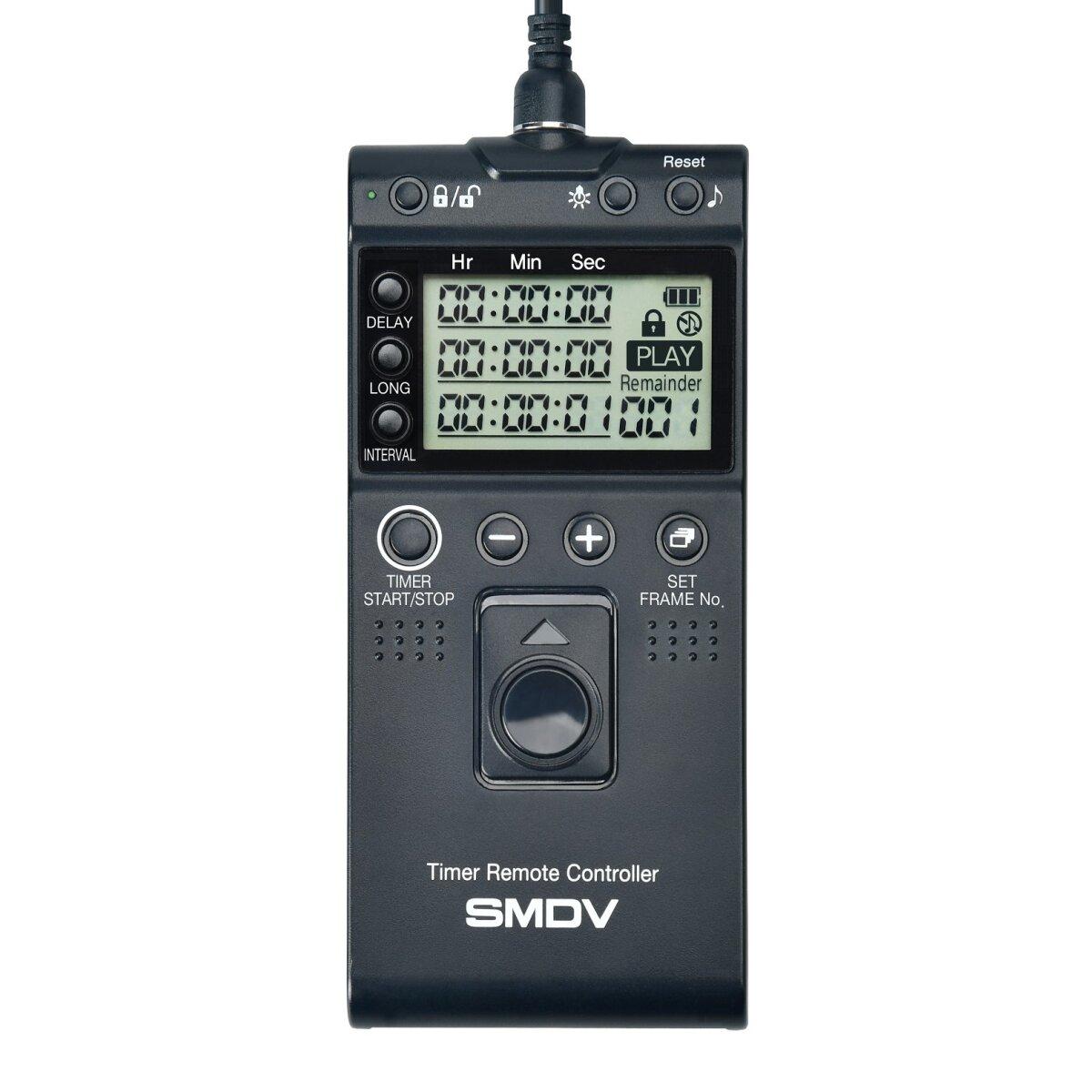 Impulsfoto SMDV Fernauslöser, Kompatibel mit Nikon Kameras, Kabelauslöser mit Timer- und Intervallfunktion Langzeitbelichtung - T808