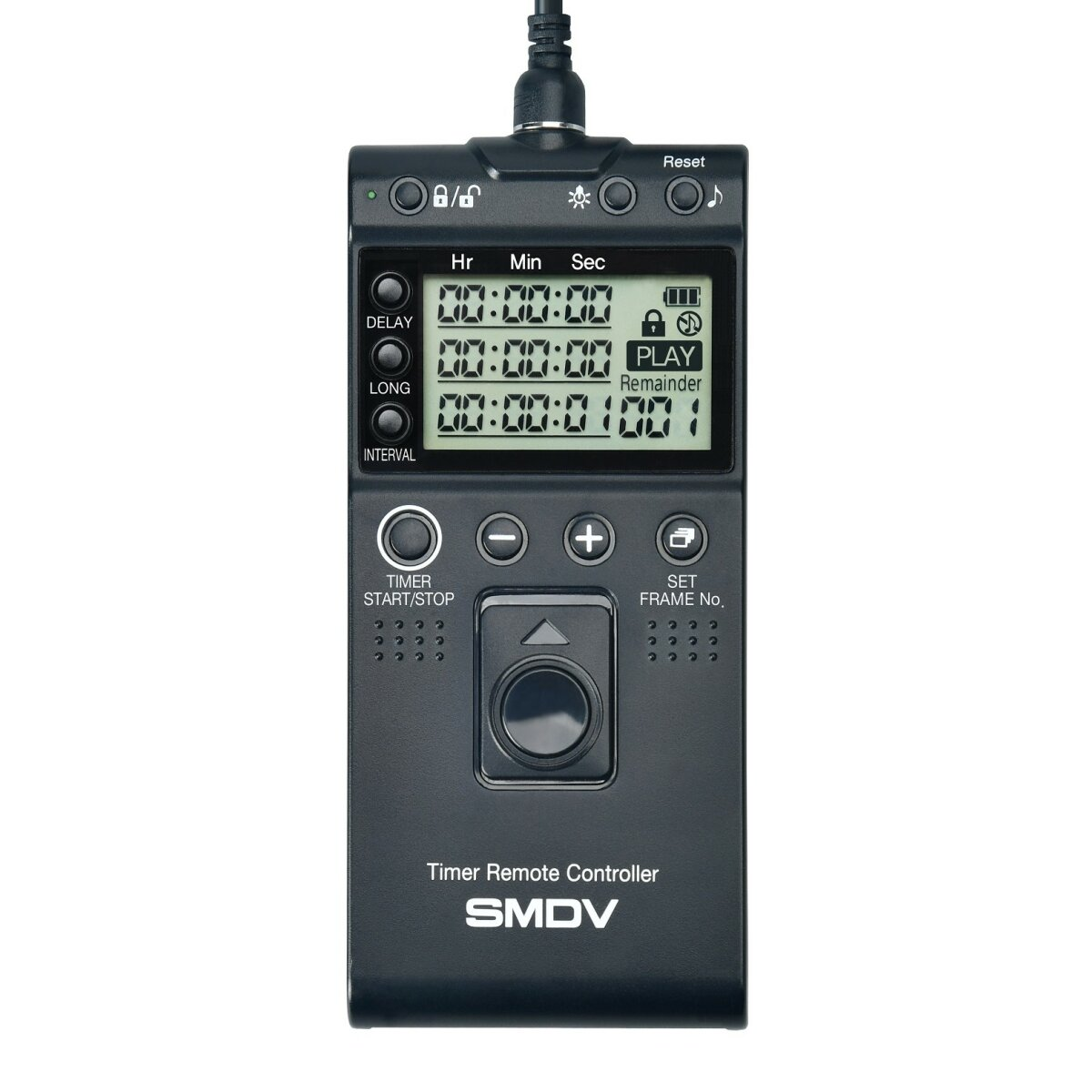 Impulsfoto SMDV Timer Fernauslöser, Kompatibel mit Sony Kameras, Kabelauslöser mit Timer- und Intervallfunktion Langzeitbelichtung - Ersatz für RM-VPR1 - T813
