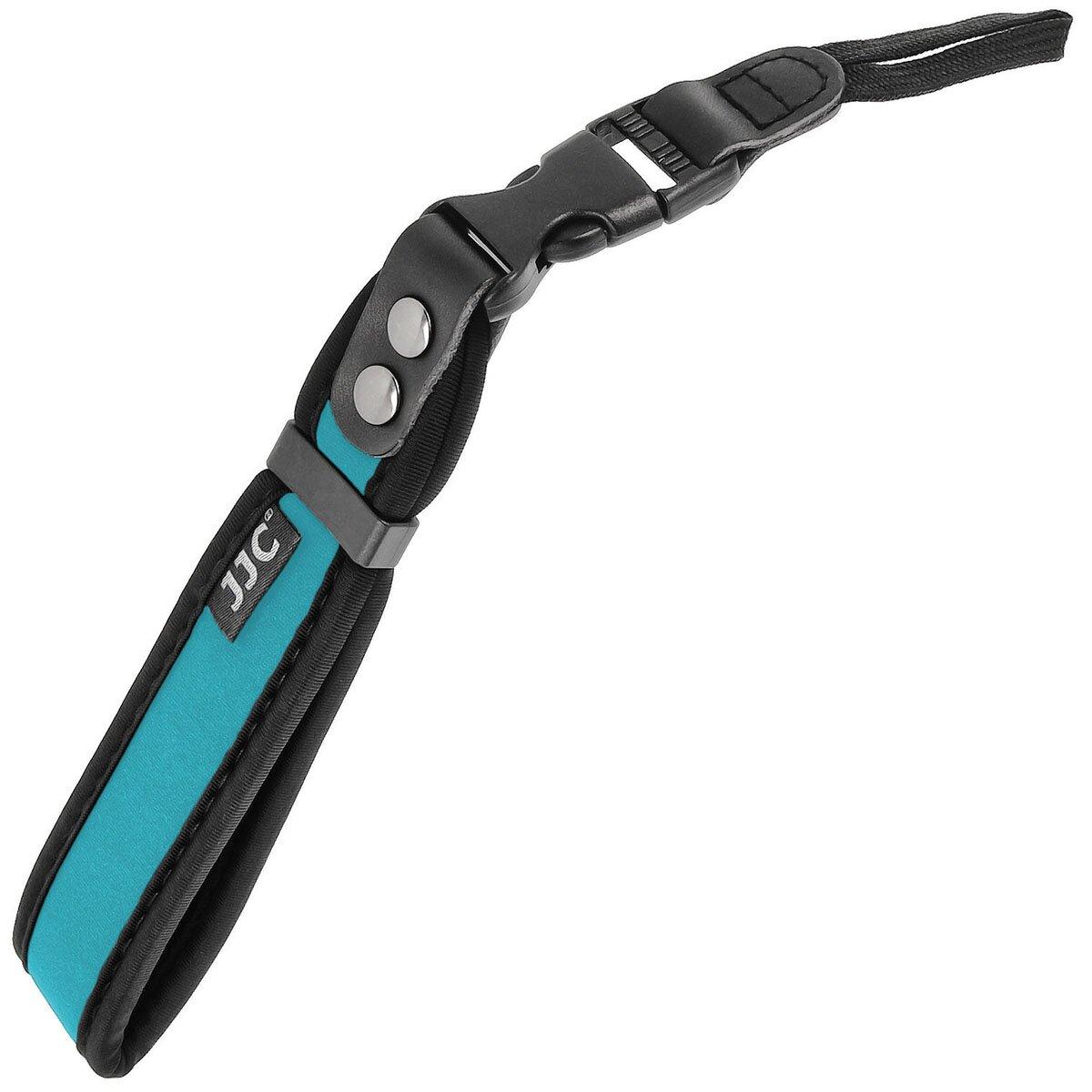 JJC Hellblau Neopren Handschlaufe Handgelenk Trageschlaufe mit Schnellverschluss für alle Kameras/DSLRs - ST-1DSB