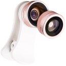 JJC Smartphone Kamera Objektiv Set, HD Linse, 105°...