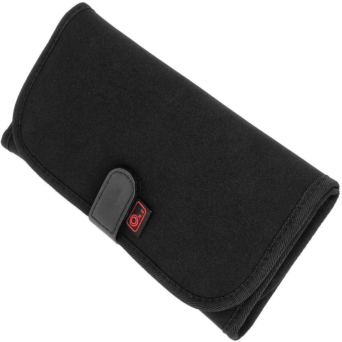 JJC Neopren Filtertasche | Etui mit Guertelschlaufe für bis zu 8 quadratische oder runde Filter | 6x 82mm & 2x 77mm | OC-P1B