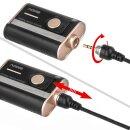 Impulsfoto SMDV RFN-4 RF-907 Kamera Fernauslöser, Kompatibel mit Sony und Minolta Kameras , 2,4Ghz, 16 Kanäle, Reichweite bis 100m