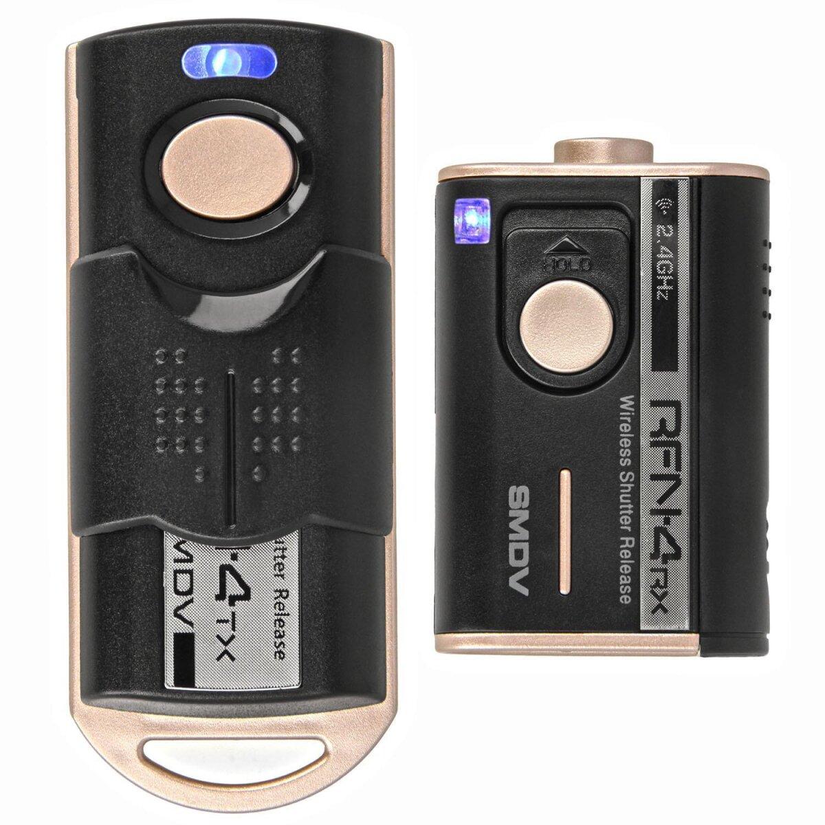 Impulsfoto SMDV RFN-4 RF-908 Kamera Fernauslöser, Kompatibel mit Nikon Kameras , 2,4Ghz, 16 Kanäle, Reichweite bis 100m