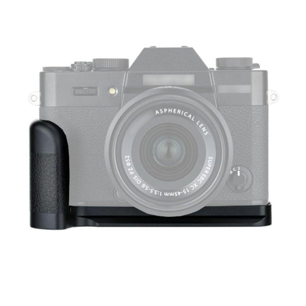 JJC Handgriff Kameragriff Kompatibel mit Fujifilm X-T30, X-T20, X-T10, Verbesserte Handhabung ausreichende Auflagefläche, Arca Swiss kompatibel mit Stativgewinde, Schneller Zugriff auf Batteriefach - HG-XT30