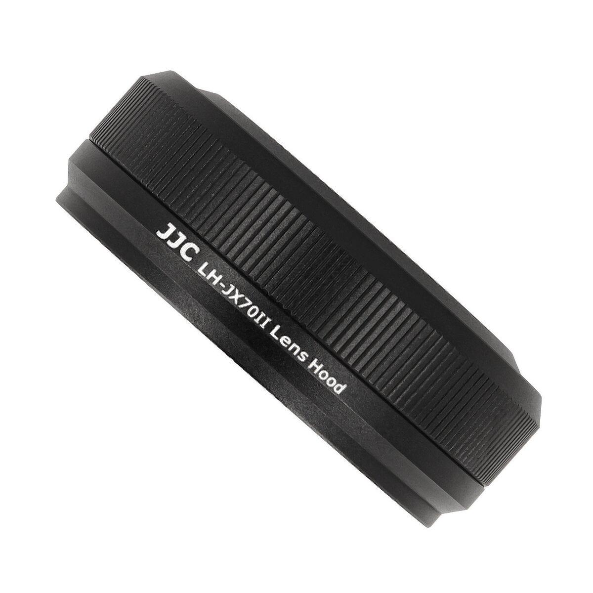 JJC Sonnenblende Gegenlichtblende in schwarz geeignet für Fujifilm X70