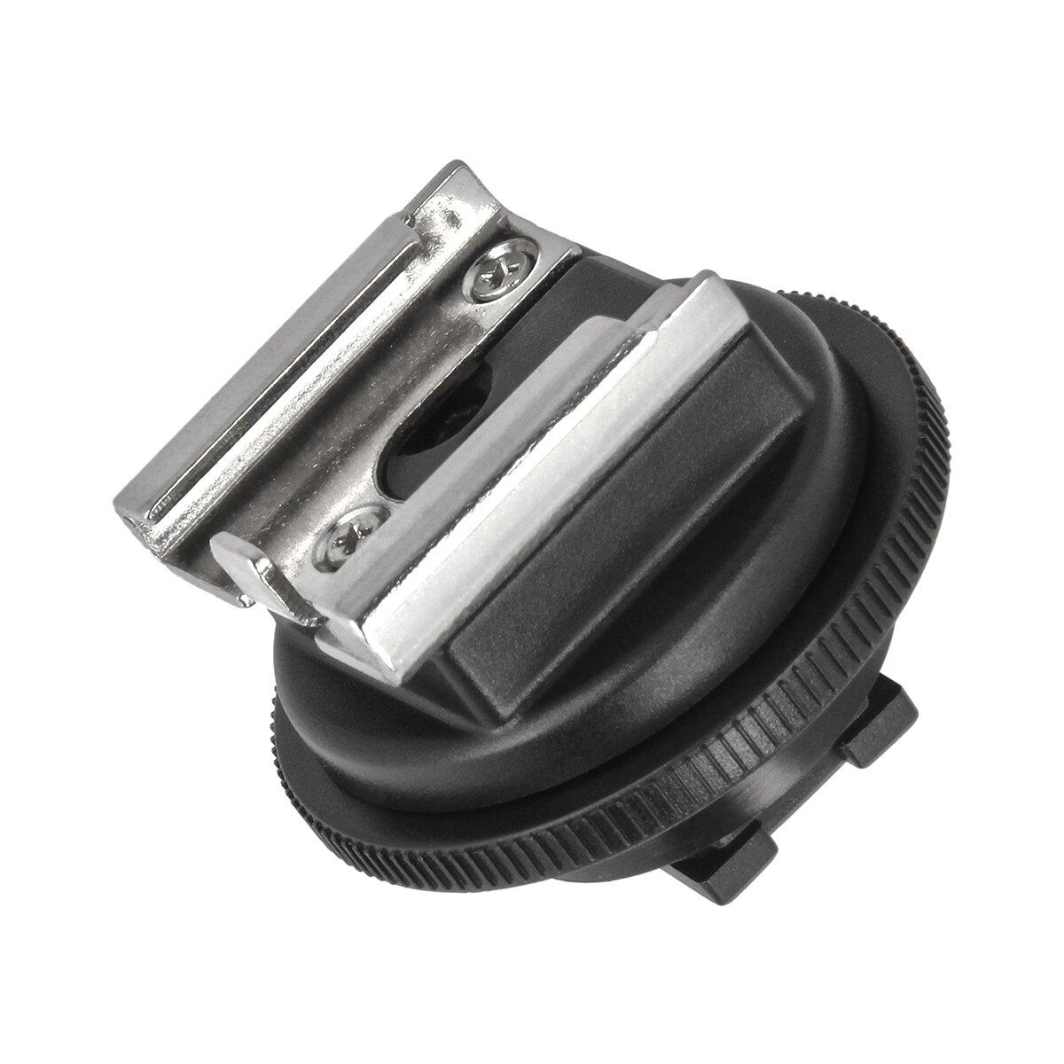 Impulsfoto Blitzschuhadapter kompatibel für Sony Camcorder Active Interface Shoe (AIS) ermöglicht die Anbringung von Zubehör mit Standardaufsteckfuß wie z.B Videoleuchten, Mikrofone oder Monitore
