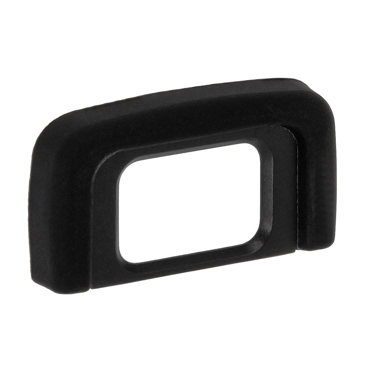 Augenmuschel für Nikon DSLR Kameras ersetzt den Nikon DK-25 geeignet für Brillenträger und gegen Streulicht bei augengesteuerter Scharfeinstellung von JJC