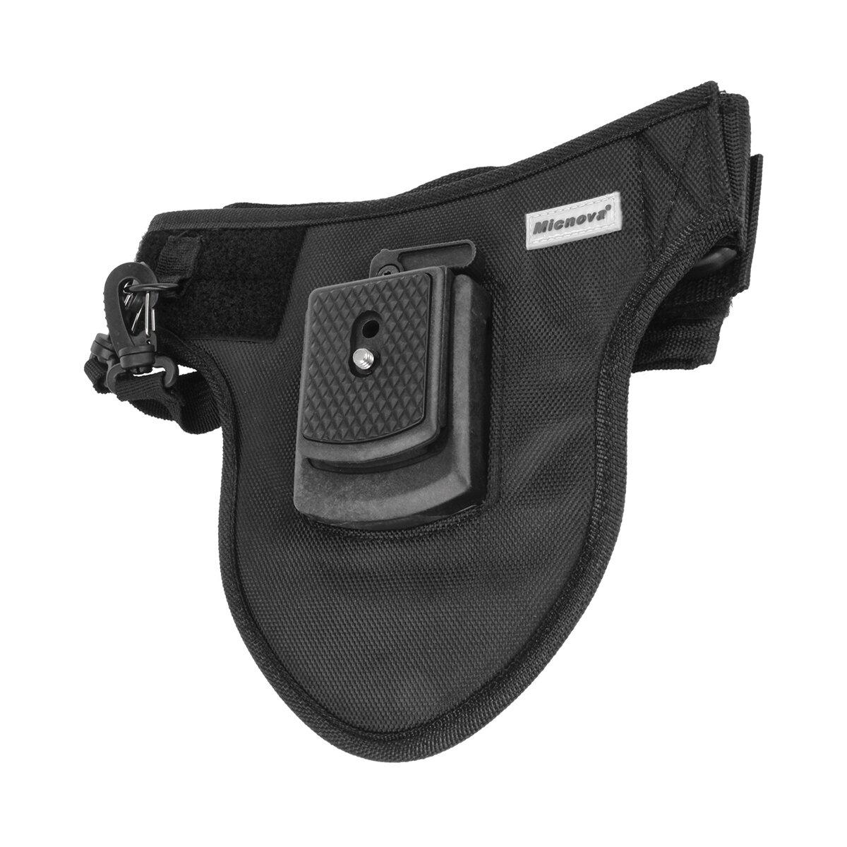Micnova Kameraholster für DSLR SLR Kameras | Tragesystem für 1 Kamera | Kameragurt für den Hüftbereich | Rückenschonendes Tragesystem