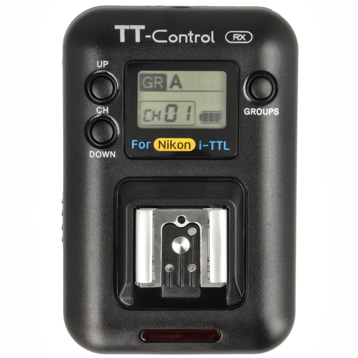 Impulsfoto SMDV Blitzauslöser-Empfänger, Zusatzempfänger für SMDV TT-Control Nikon, Kabellos