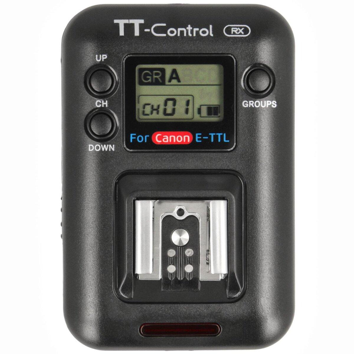 Impulsfoto SMDV Blitzauslöser-Empfänger, Zusatzempfänger für SMDV TT-Control Canon, Kabellos