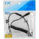 JJC Fernauslöser Kabel für Kameras mit einem Anschluss für Fuji RR-90 - geeignet für nahezu alle Fernauslöser mit 2,5-mm-Klinkenbuchse