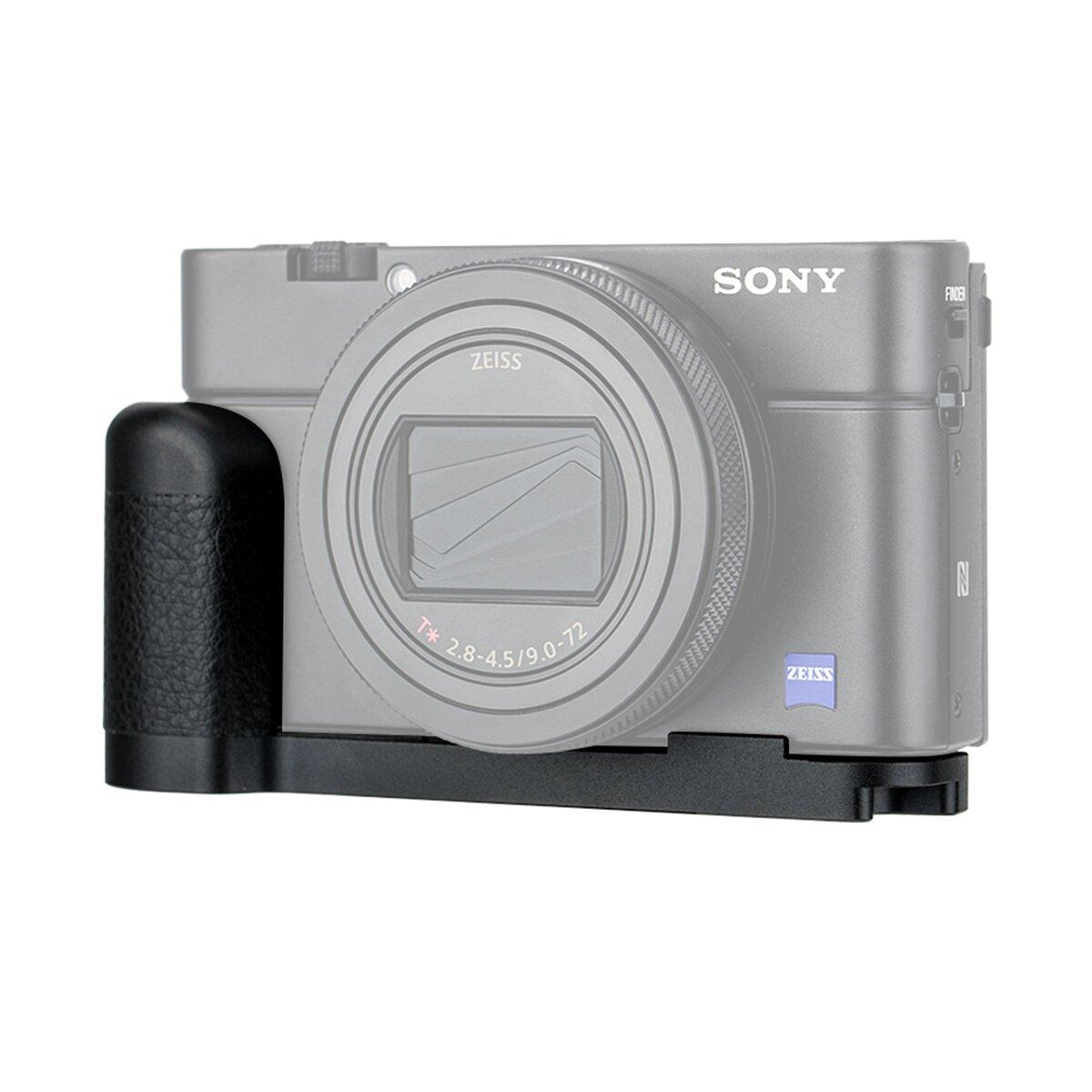 JJC Kameragriff, Kompatibel mit Sony RX100 VII   Verbesserte Handhabung, ausreichende Auflagefläche   Arca Swiss kompatibel mit Stativgewinde - HG-RX100VII
