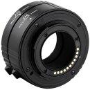JJC AET-M43S(II) Automatik-Zwischenringe für Kameras mit M4/3 Anschluss | 10mm, 16mm Zwischenringe Makrofotografie, Kompatibel mit Olympus/Panasonic Micro Four Thirds