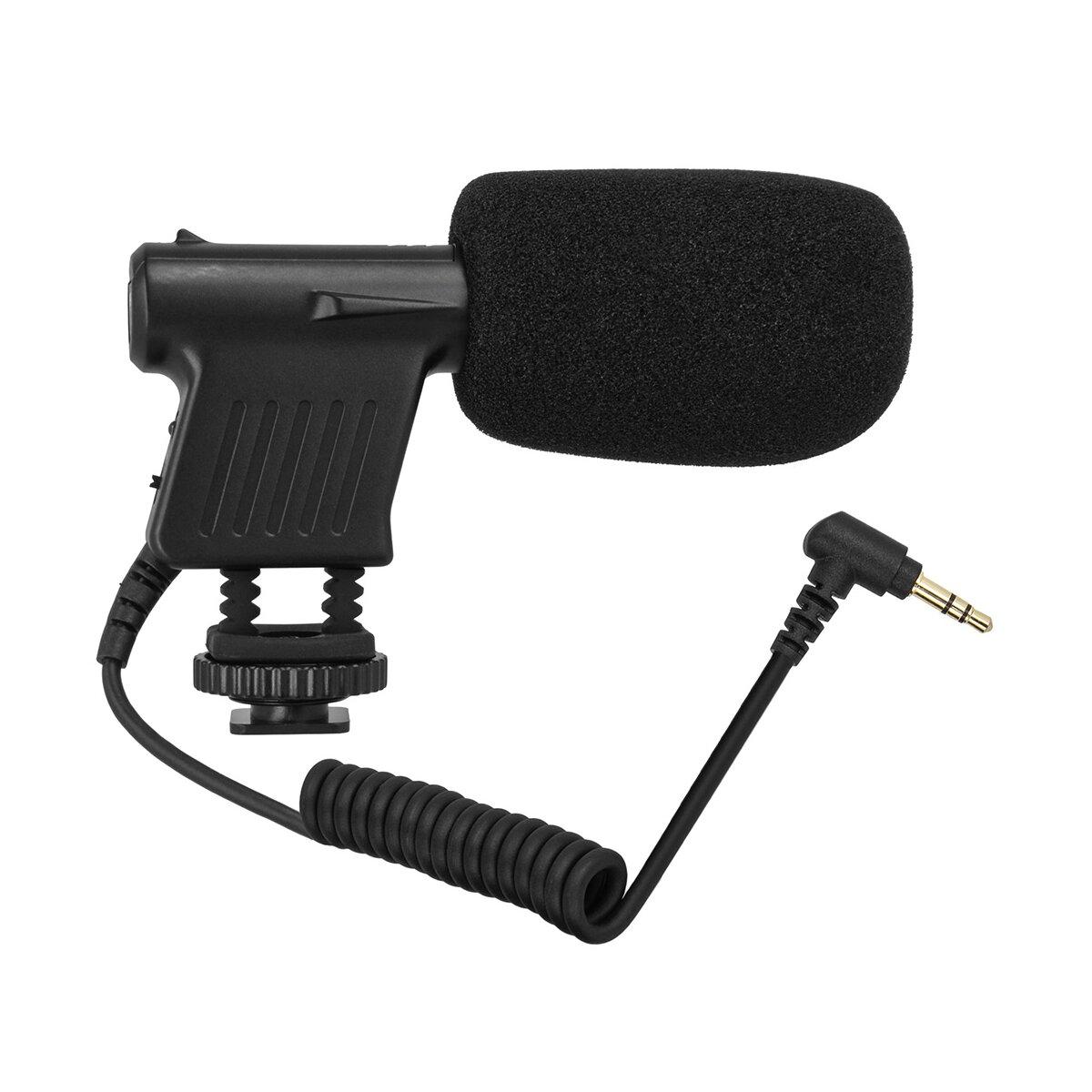 Boya BY-VM01 Richtmikrofon Kondensatormikrofon   für DSLRs DSLMs Camcorder   Supernieren-Charakteristik QUALITATIVE Aufnahmen   PERFEKT geeignet für Tonaufnahmen