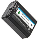 Minadax Handgriff Kameragriff für Sony A7II inkl. 1x NP-FW50 Akku - Verbesserte Handhabung ausreichende Auflagefläche - Mit Stativgewinde - Schneller Zugriff auf Batteriefach